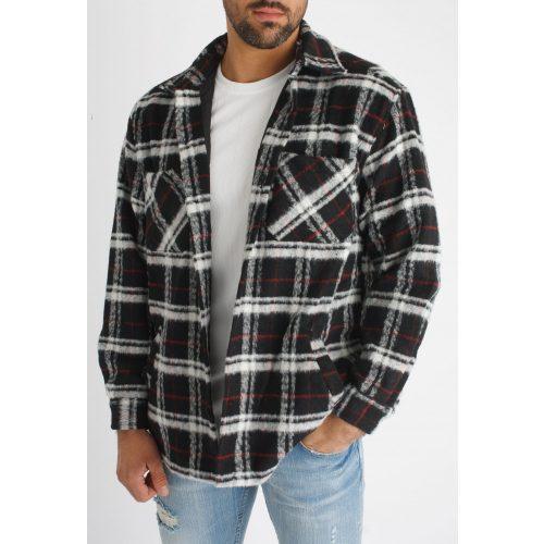 Kodiak Shirt Jacket - kockás ingdzseki - Méret: L