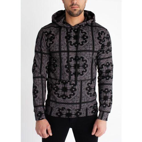 Bandana Hoodie -  slim fit pulóver - Méret: L