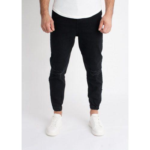 Ripped Loose Fit Jeans - szaggatott farmer - Méret: 36