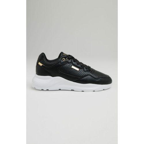 SIKSILK BLACK FAZE ANACONDA - fekete cipő - Méret: 41