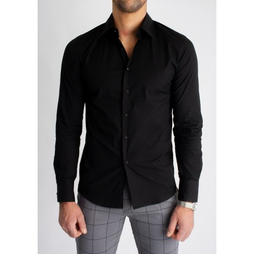 Black Super Skinny Shirt