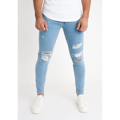 Lightblue Ripped Jeans