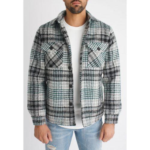 Buffalo Shirt Jacket - kockás ingdzseki - Méret: S