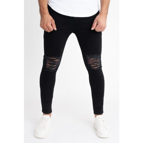 Black Eagle Ripped Jeans