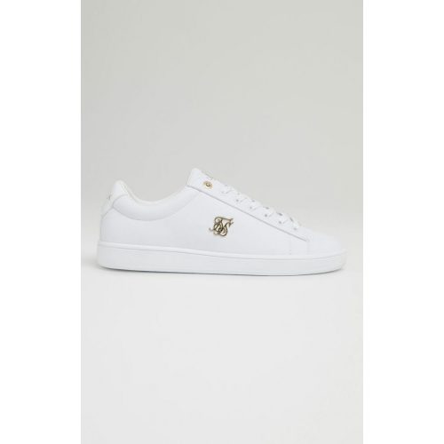 SIKSILK ELITE PATENT - fehér cipő - Méret: 45