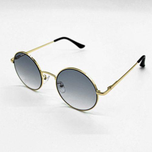 Round Gold Sunglasses