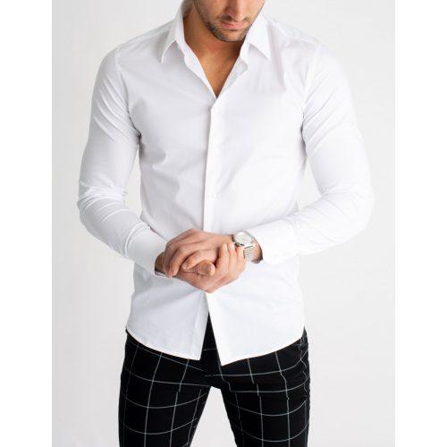 White Super Skinny Shirt - fehér ing - Méret: XL