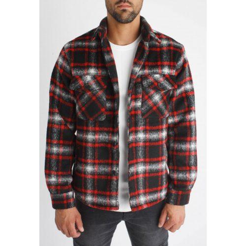 Toronto Shirt Jacket - kockás ingdzseki - Méret: L